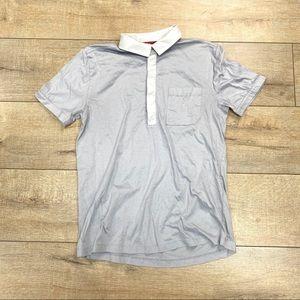 Hugo Boss grey casual shirt